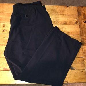 Croft & Barrow Stretch Dark Navy Dress Pants 18WS